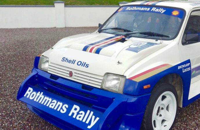 Rothmans rally show car heads Coys' Autosport auction
