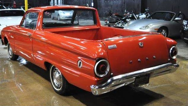 The Ford Ranchero is an affordable choice in vintage pickups