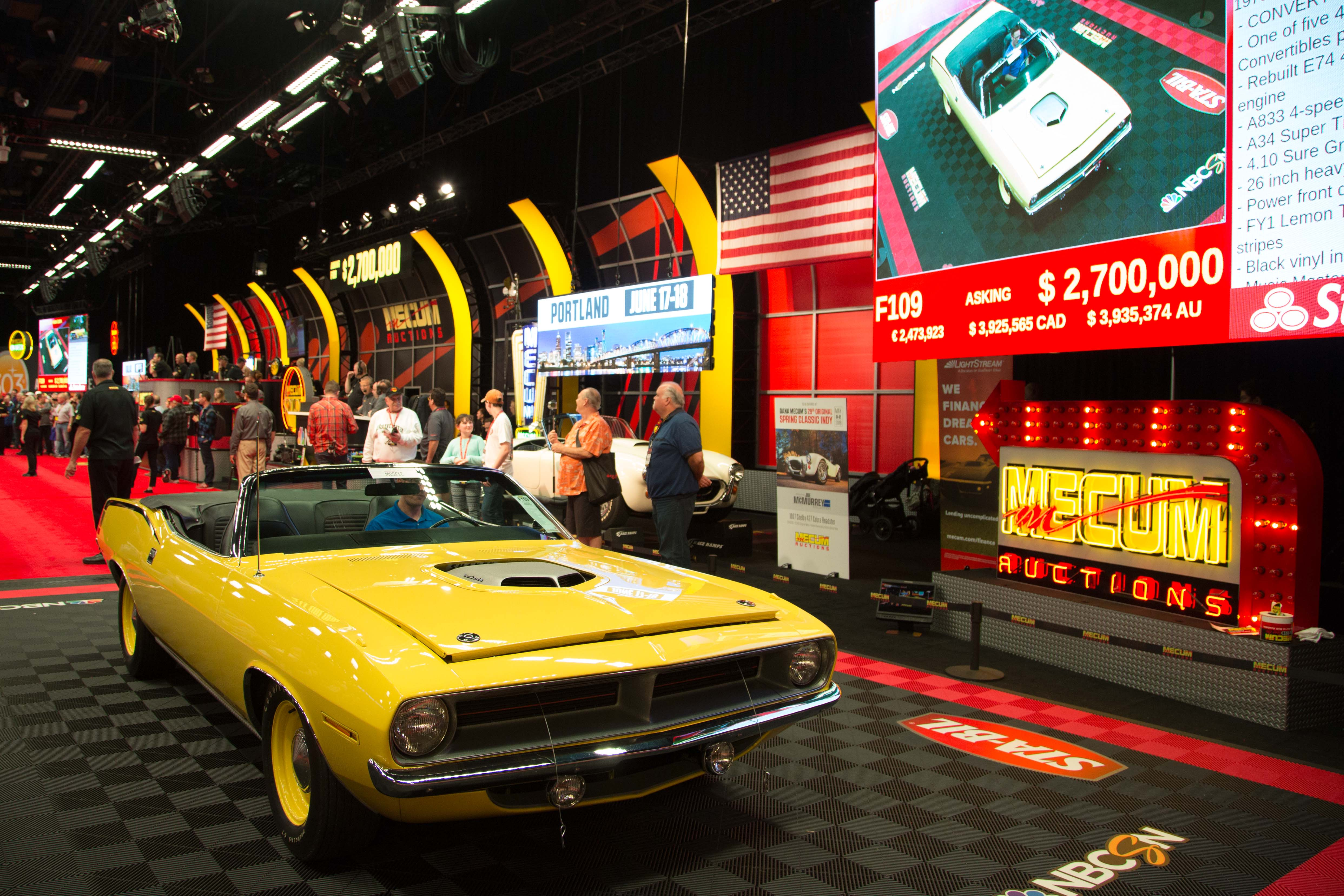 Monumental Muscle\' is million-dollar muscle at Mecum - ClassicCars ...