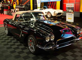 Resto-mod '62 Corvette moves to top of Kissimmee sales chart