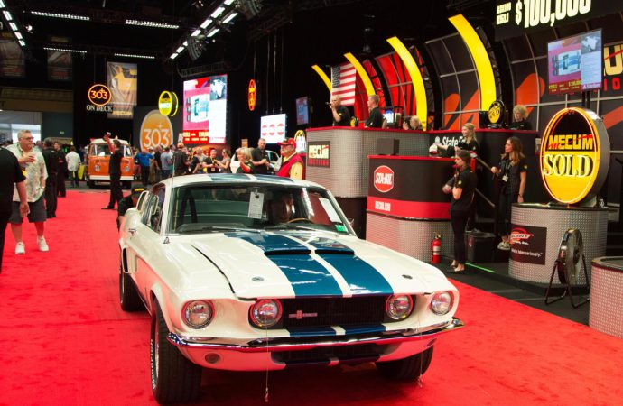 Last car of day brings highest bids Tuesday at Mecum Kissimmee