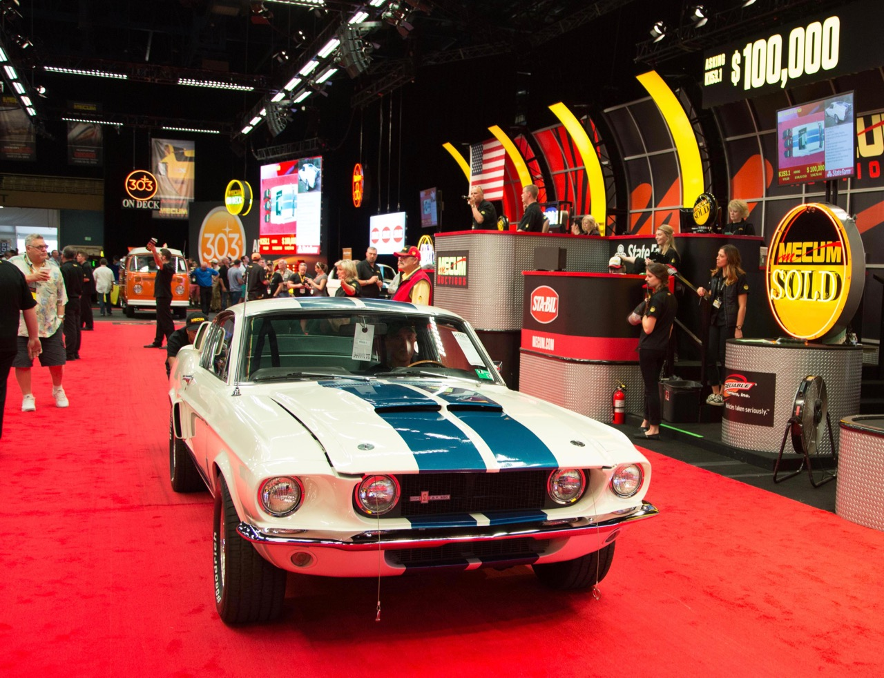 1967 Shelby GT500 sells for $100,000
