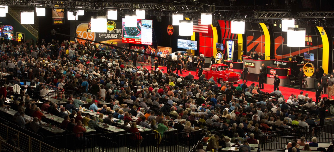 Mecum's Kissimmee auction drew huge crowds   Mecum photos by Maggie Pinke