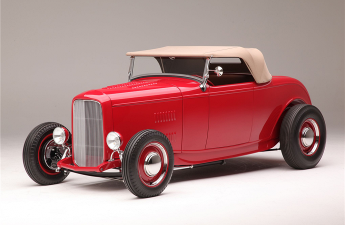 Countdown to Barrett-Jackson Scottsdale 2016: 1932 Ford Hi-Boy 'McGee Tribute'