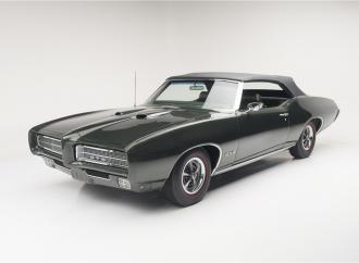 Countdown to Barrett-Jackson Scottsdale 2016: 1969 Pontiac GTO Ram Air IV