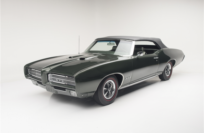 Countdown to Barrett-Jackson Scottsdale 2016: 1969 Pontiac GTO Ram Air IV