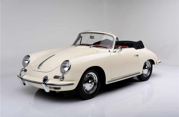 Countdown to Barrett-Jackson Scottsdale 2016: 1962 Porsche 356 Super 90 Cab