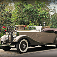 Countdown to Barrett-Jackson Scottsdale 2016: 1934 Rolls-Royce Phantom II Kellner Cabriolet
