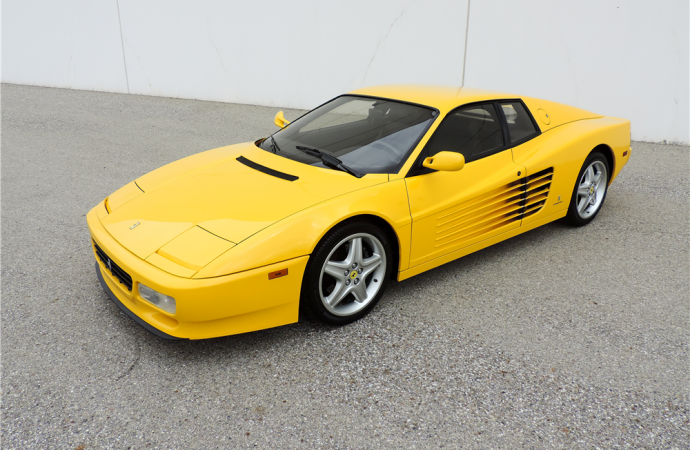 Countdown to Barrett-Jackson Scottsdale 2016: 1992 Ferrari 512TR Coupe