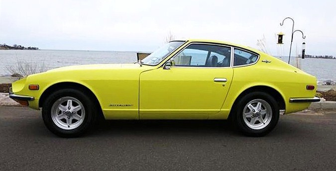 The Datsun is described by the seller as totally restored