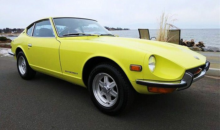 The 1970 Datsun 240Z represents the first year the Japanese sports coupe was imported to the U.S.