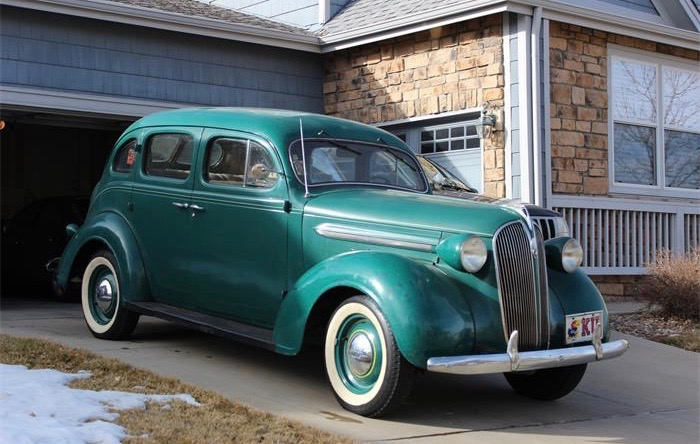 Owner's moved to Chicago, but this 1937 Plymouth P4 is still in Denver