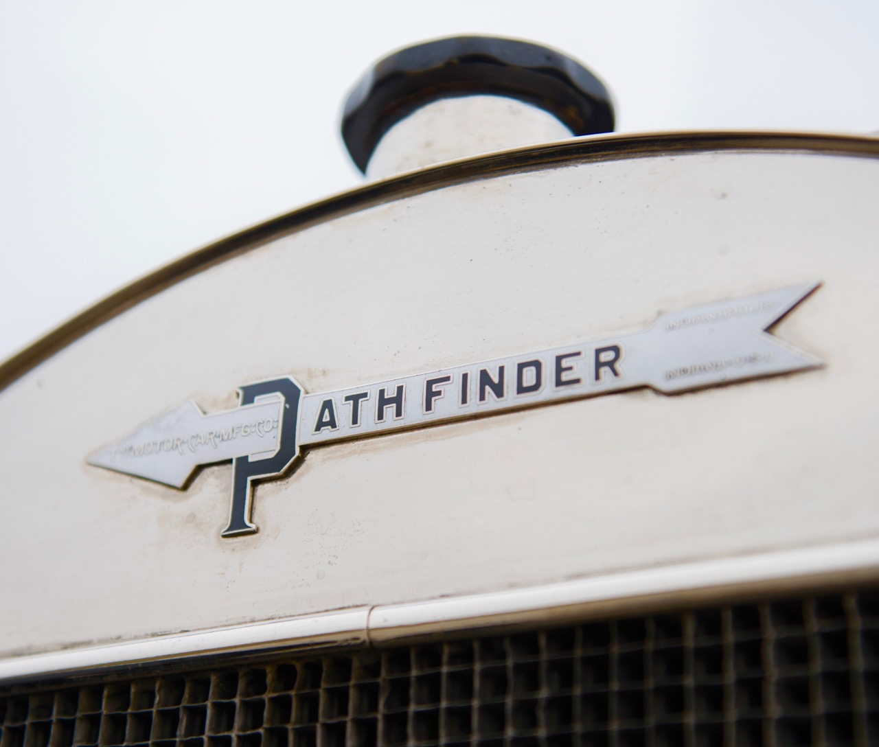 Pathfinder logo on the radiator
