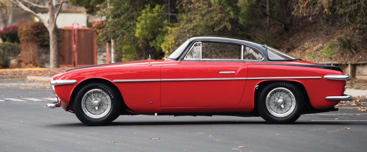 1953 Ferrari 212 Inter coupe is gorgeous to behold | RM Sotheby's photo by Darin Schnabel