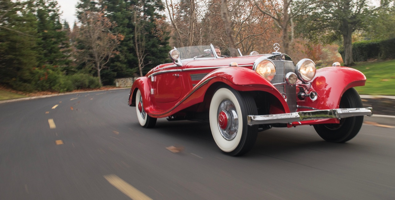 Will this 19xx Mercedes-Benz 540 K Special Roadster become Arizona's first 8-figure auction sale? | RM Sotheby's photos by Darin Schnabel
