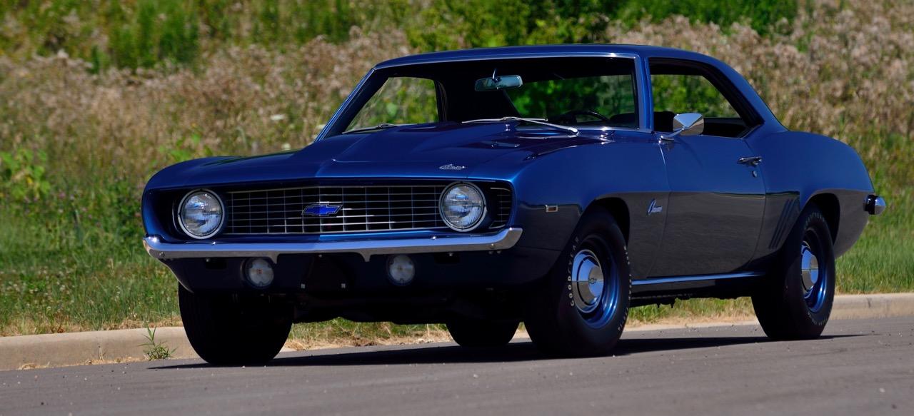 1969 Chevrolet Camaro ZL1 among star cars on block Friday | Mecum