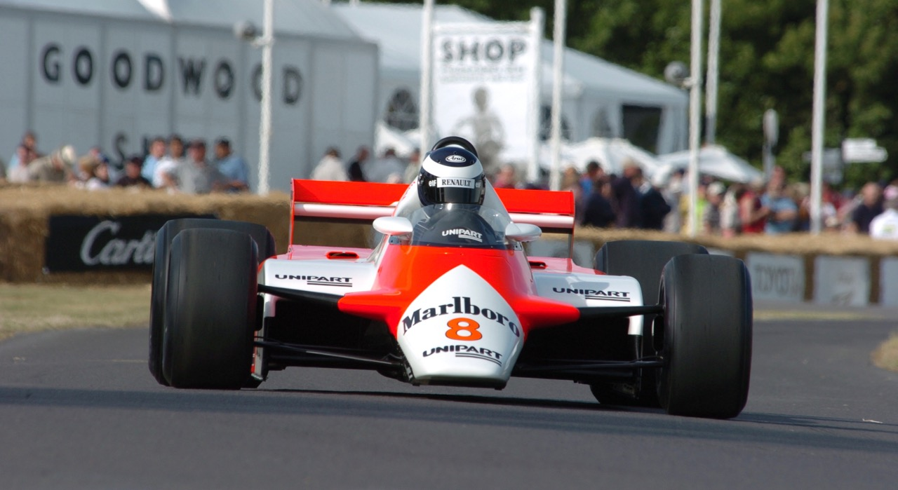 1982 McLaren-Cosworth MP4/1B among 'ground effects' cars to be featured at Goodwood Members' Meeting | Goodwood photos