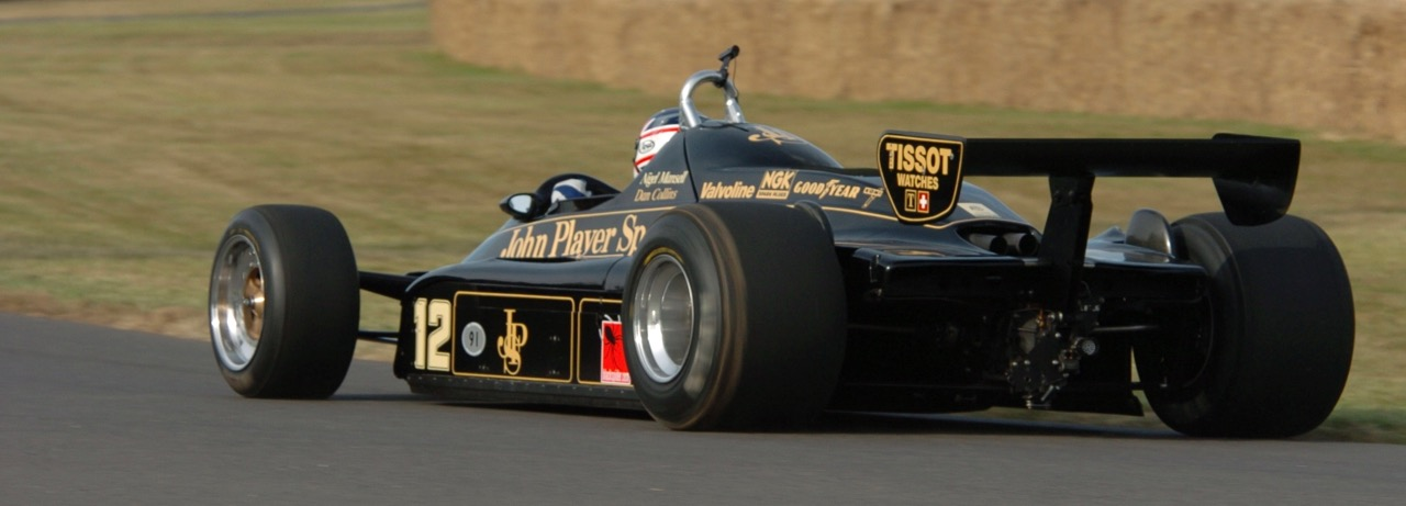 1982 Lotus-Cosworth 91