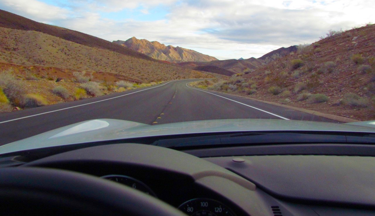 Top down on a great road, dexterity trumps speed