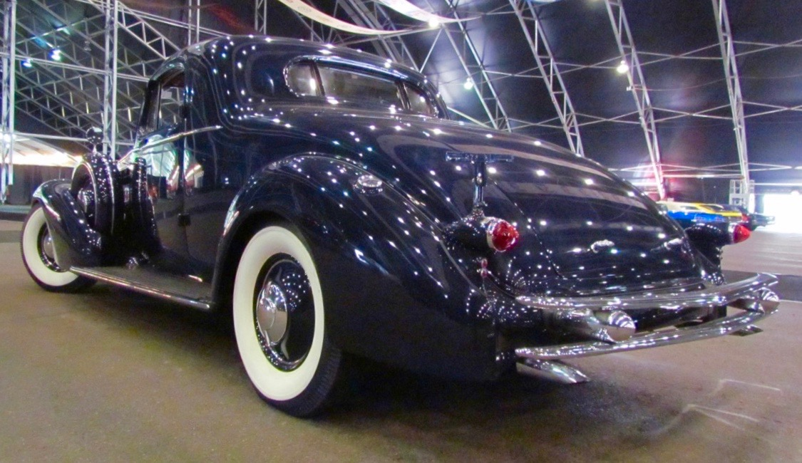 V12-powered Caddy coupe was Nellie's daily driver