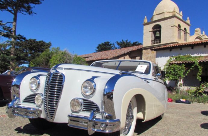 Concours d'elegance, or just a really good car show? Who's to say? And does it matter?