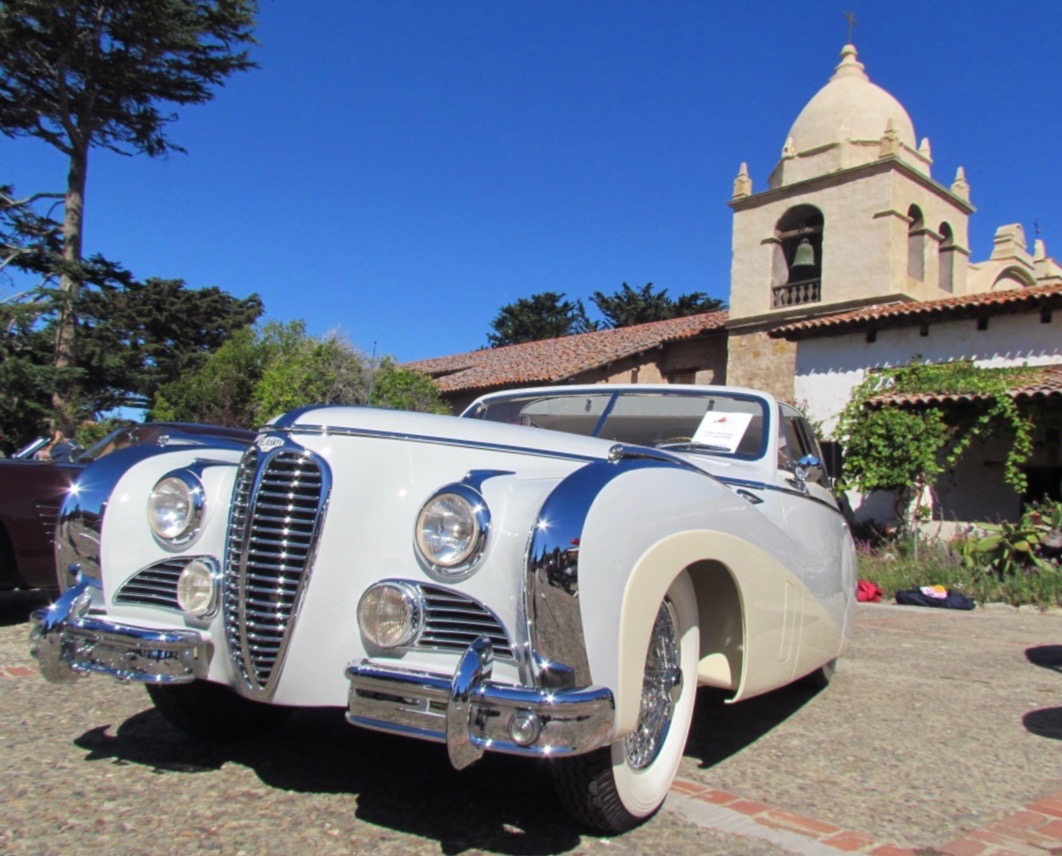 Carmel Mission Classic has elegant cars in amazing location, but is not a concours?