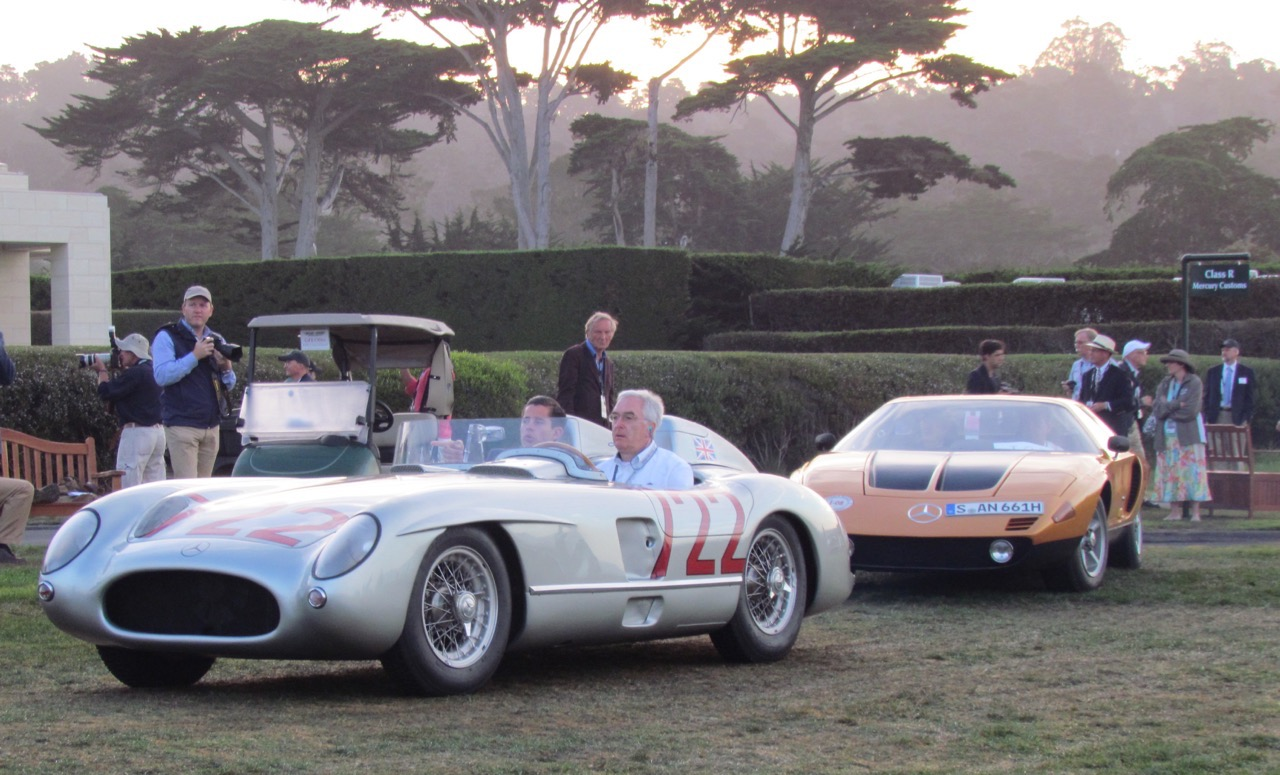 Amazing cars in a spectacular setting, Pebble Beach is obviously a concours d'elegance of the highest order | Larry Edsall photos