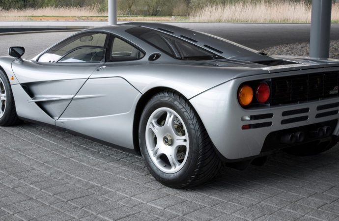 McLaren F1 to be featured at London's classic car show