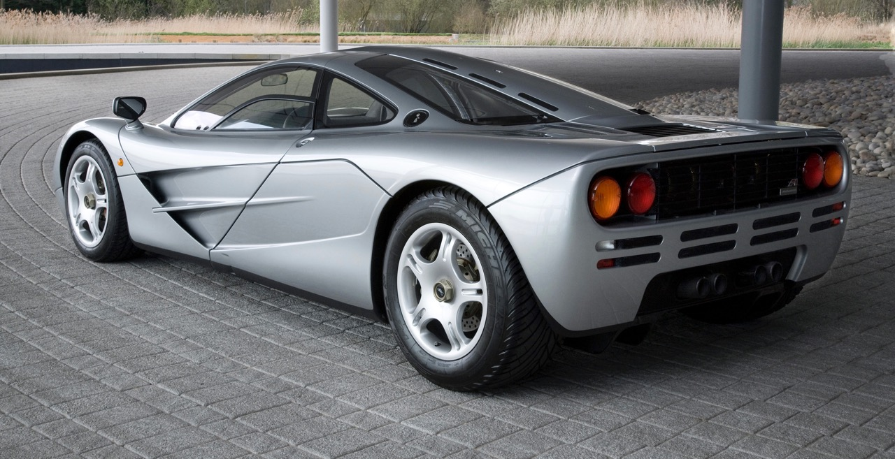 McLaren F1 rear - credit MSO Heritage