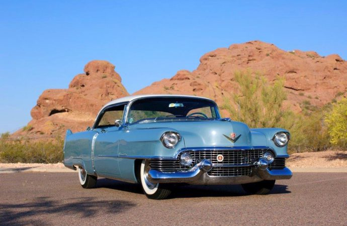 1954 Cadillac Coupe deVille wins Classiccars.com Award at Arizona Concours