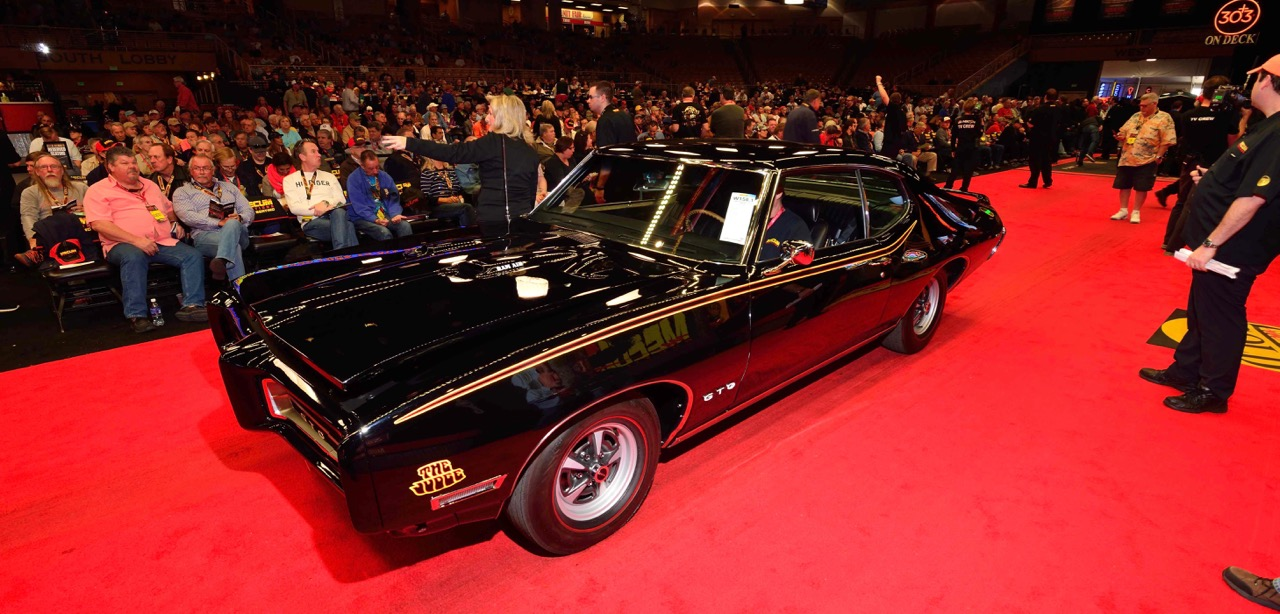 1969 Pontiac GTO Judge takes high-sale honors Wednesday at Kissimmee sale | Mecum Auctions photos
