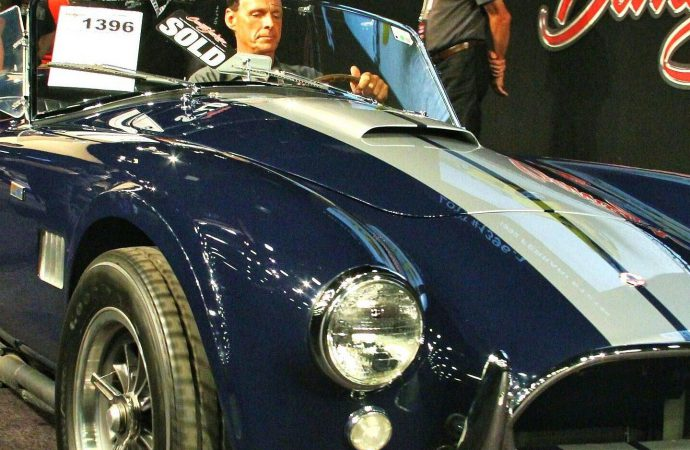Shelby magic again lights up Barrett-Jackson auction block  during the 'Super Saturday' sale in Scottsdale