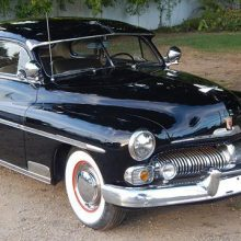 1950 Mercury Deluxe coupe