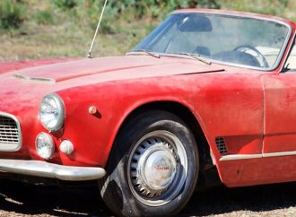 Musty Maserati 'barn find' heads for Gooding Scottsdale auction