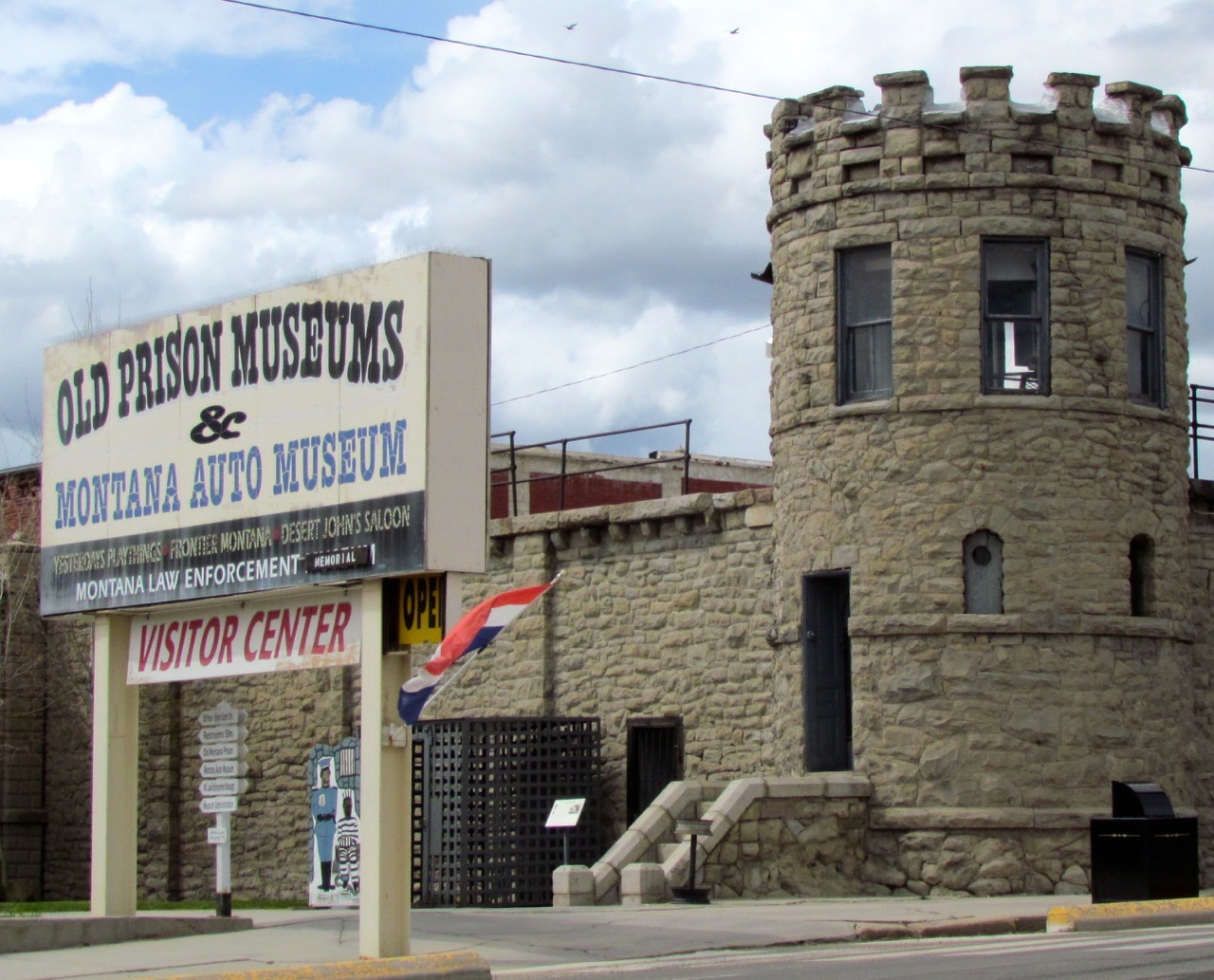 The old Montana state prison has been turned into a museum