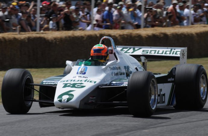 Ground-effects F1 cars to be featured at Goodwood