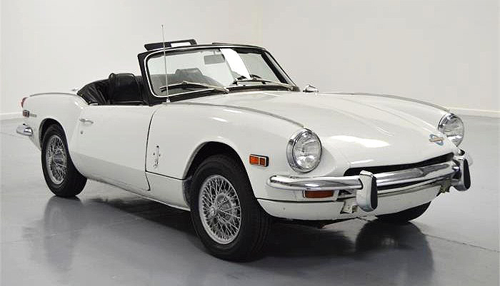 The 1970 Triumph Spitfire represents an affordable way into the classic British sports-car experience