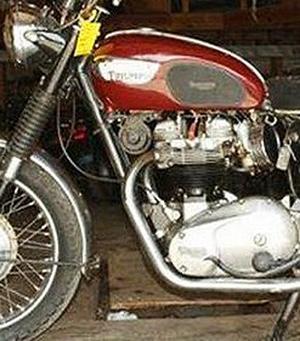 1967 Triumph Bonneville motorcycle