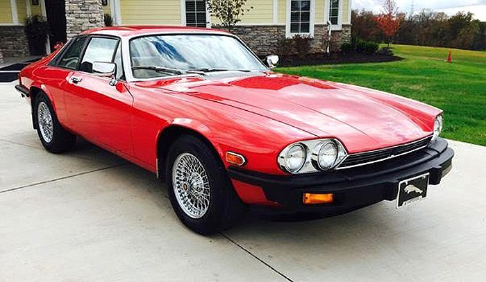 The 1979 Jaguar XJ-S has been driven just over 11,500 miles, the seller says