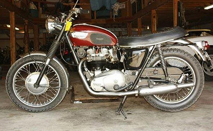 The 1967 Triumph Bonneville is considered one of the best model years for the classic British bike