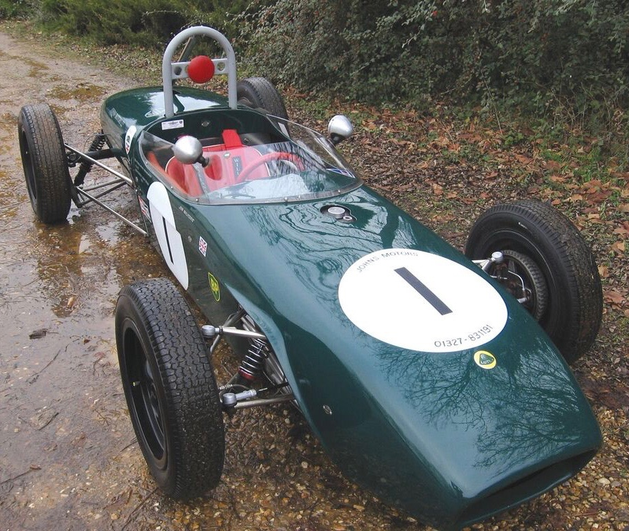 John Surtees drove this 1960 Lotus F/Junior in its debut | Coys photos