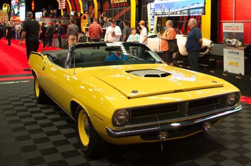 Muscle Cars Dominate Sales List As Mecum Exceeds 90 Million In