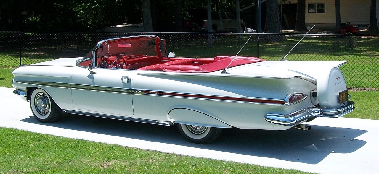 Bob's 1959 Chevrolet convertible | Robert Langley photos