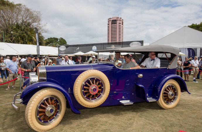 'Fatty' Arbuckle's Pierce-Arrow wins at Boca Raton