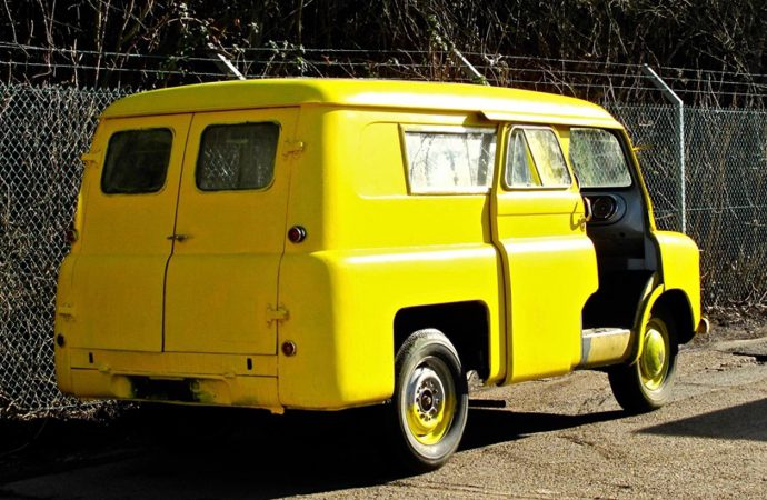 'Lady in the Van' van heading to Silverstone sale