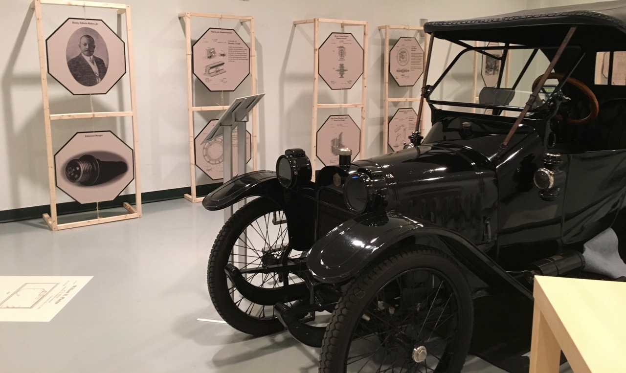 Part of the African-American auto pioneers exhibit at the AACA Museum | Jed Rapoport photo