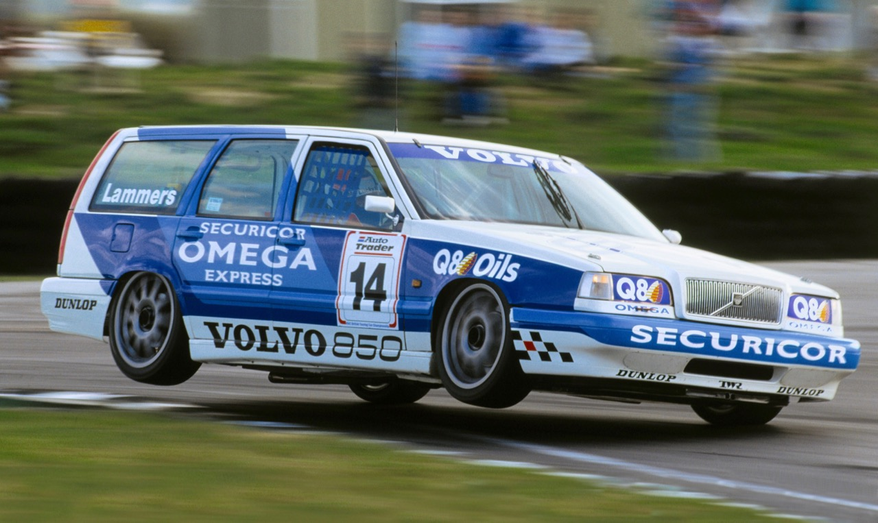 Volvo stunned British Touring Car racing with its 850 station wagon | Volvo photos