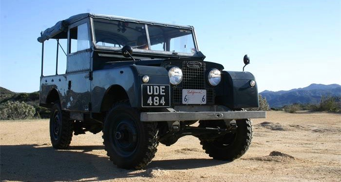 1955 Land Rover Series I has had writer and editor as its owners