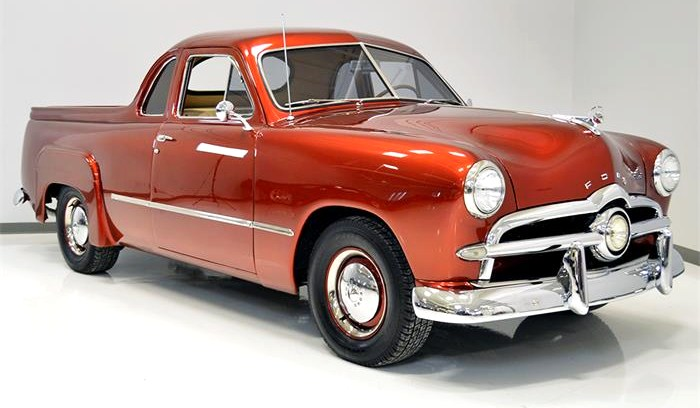 The 1949 Ford Utility Coupe of Australia predates the Ford Ranchero and Chevy El Camino