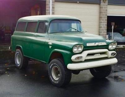 1959 GMC Napco panel wagon